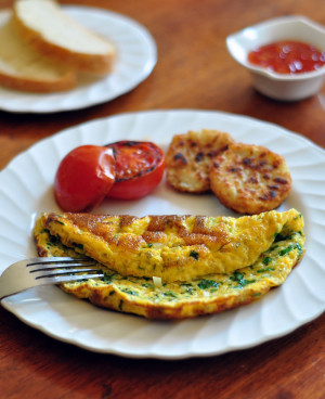 ... omelet light and fluffy indeed this indian omelet is not only light