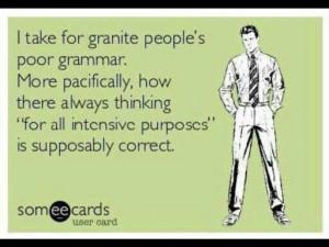 poor grammar