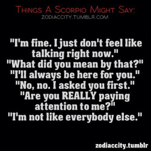 zodiac #sign #Scorpio #astrology #zodiaccity #quotes @funny_dude_101