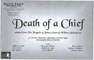 Course Five — Death of a Chief: Adapting Julius Caesar from a First ...