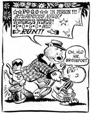 Pogo had a great influence upon many future political cartoonists ...