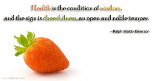 thoughts health quotes health thoughts nice quotes nice thoughts ralph ...