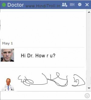 ... Are You Funny Troll Photo about Dictors Handwriting as Facebook Chat
