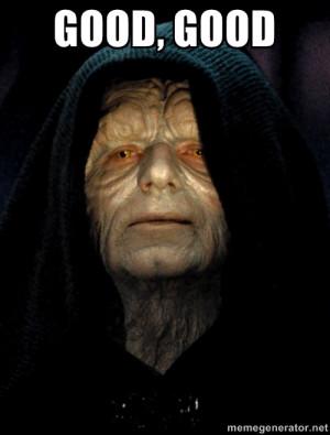 Star Wars Emperor - good, good