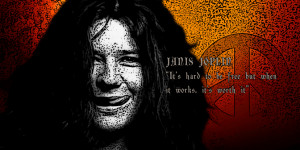 Janis Joplin POETS Collection Iconic Canvas Pop Art Print & Famous ...