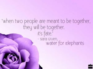 Water for elephants love quotes