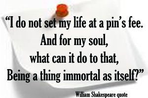 Shakespeare Quote on #pins