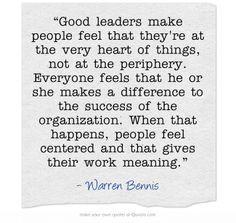 TRUE Leader...