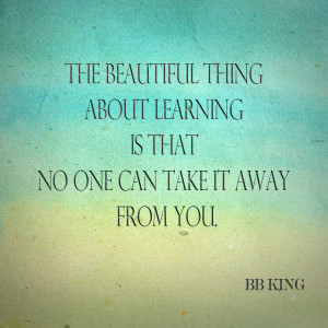 Quote on Education: BB King