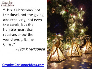 True Meaning Of Christmas Quotes this is christmas: notthe
