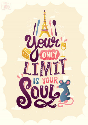 ... Typographic Illustrations Of Inspiring Quotes From Popular Pixar Films