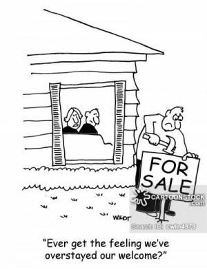 houseguest cartoons, houseguest cartoon, funny, houseguest picture ...