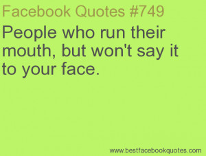 Two Faced People...