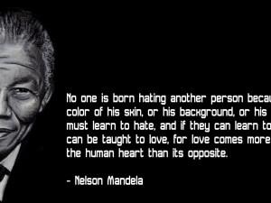 Download 'inspirational hd quote from nelson mandela' HD wallpaper