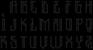 cholo graffiti letters