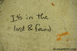 Did Funny Lost And Found Signs
