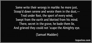 More Samuel Madden Quotes