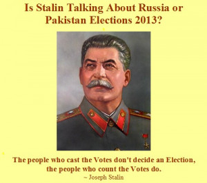 Funny Elections - Joseph Stalin about Pakistan Elections - Pakistan ...