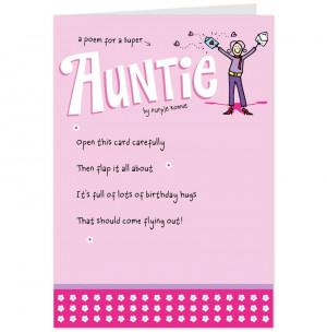 Medium - Birthday Wishes Quotes Cute Auntie For My Aunt Card Hallmark ...
