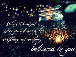 Quote from: Taylor Swift - Innocent