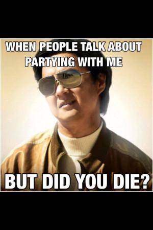 But did you die???