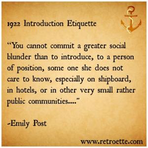 Etiquette Quotes Etiquette quotes,