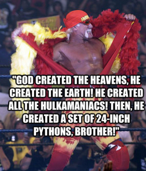 funny wrestling quotes and sayings hulk hogan quotes sayings