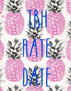 tbh rate date instagram more tbh rate date tbr 1 1