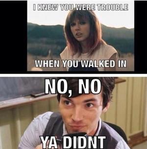 taylor swift funny. PLL funny. Ezra funny. hahahaahah