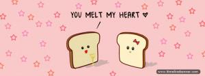 Melt My Heart Facebook Cover