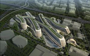 futuristic sky soho by zaha hadid architects shanghai china zaha hadid ...