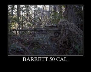 MARSOC sniper, armed with a Barrett M82 .50 sniper #rifle