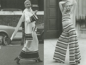 In the search for the style, fashion and environmentalist in the 1970s