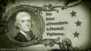 The Price Of Freedom….