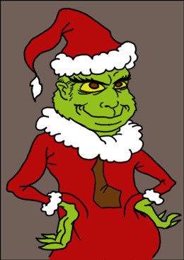 "... holiday blockbuster: a remake of ""How the Grinch Stole Christmas"