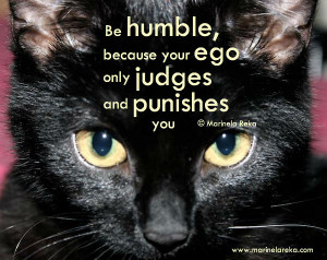 Quote about being Humble, marinela reka