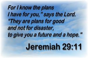 Bible Quotes Jeremiah 29 11