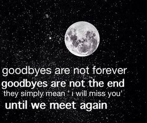 It's not good-bye its until next time :)