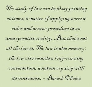 President Barack Obama. Quote taken from President Obama's book ...