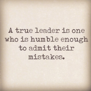True Leader Leadership Quotes