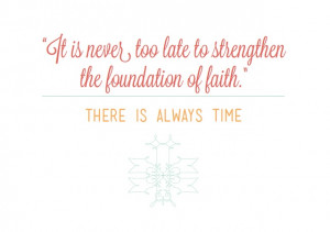 West end girl: Faith in the Future LDS quote Find more LDS inspiration ...