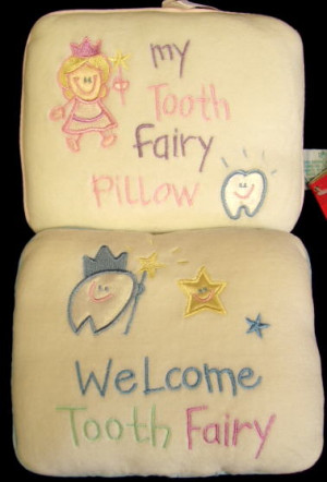 Prod Code B Tooth Fairy Pillows
