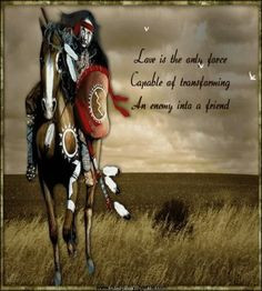 Famous Native American Quotes | Peace in NATIVE GREETINGS, WISHES AND ...