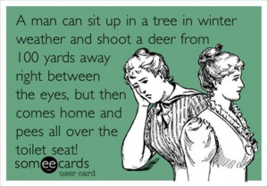 funny man quotes, hunting deer