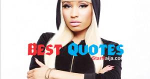 Best Nicki Minaj Quotes