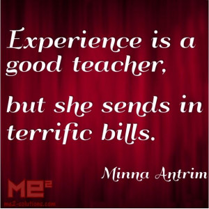 ... sends in terrific bills minna antrim # quotes # business # learning