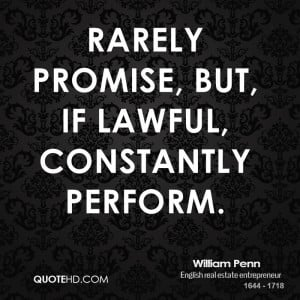 William Penn Wisdom Quotes