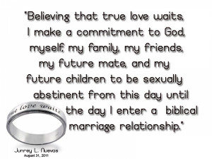 True Love Waits Quotes Bible