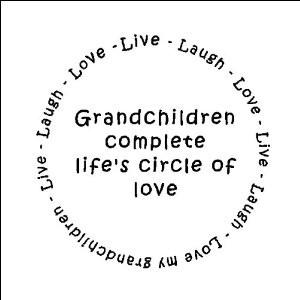 Amazon.com - Grandchildren complete life's circle of love ...