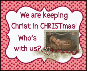 ... participating in the keeping christ in christmas blog carnival hosted